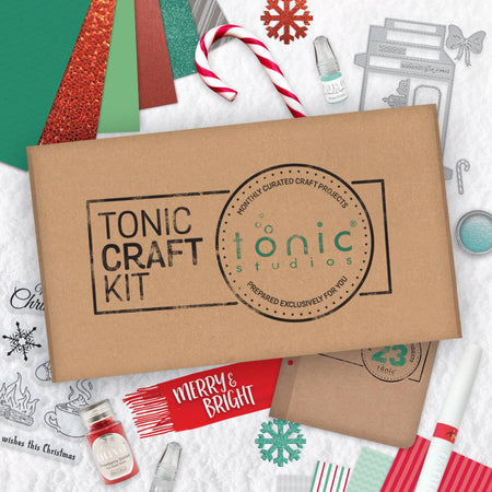 Tonic Craft Kit 23 - Merry & Bright - Inspiration