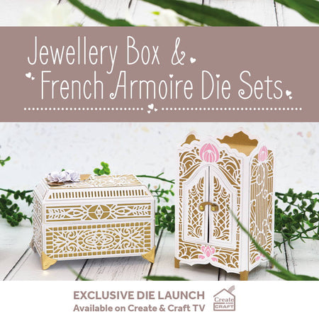 Jewellery & French Armoire Gift Boxes - Launch Details