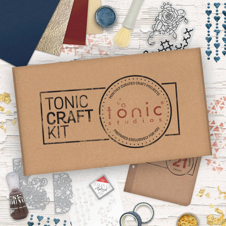Tonic Craft Kit 21 - Distressed Detail - Inspiration