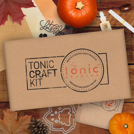 Tonic Craft Kit 12 - Hello Autumn Shaker - Inspiration