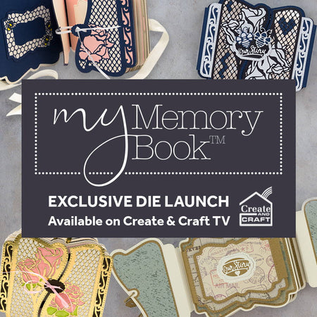 My Memory Book - Spring Garden & Our Story Die Set Launch