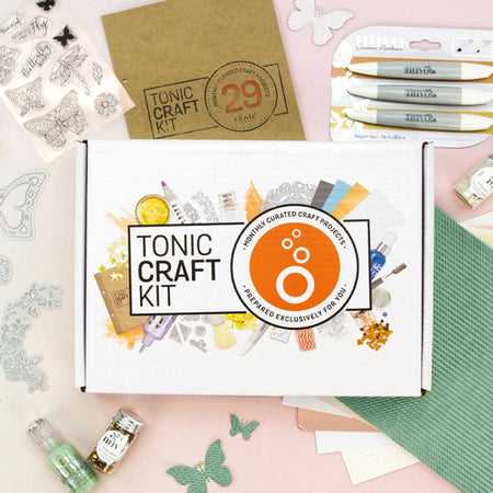Tonic Craft Kit 29 - Dot & Drop Butterfly - Inspiration