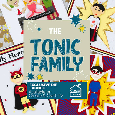 The Tonic Family Die Set - Launch Details