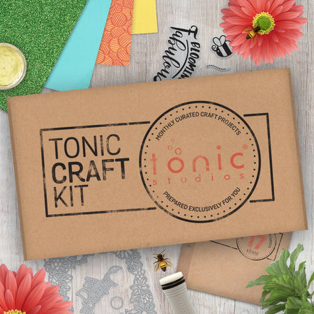 Tonic Craft Kit 17 - Spring Frame - Inspiration