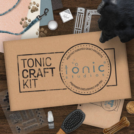 Tonic Craft Kit 14 - Pet Window Frame - Inspiration