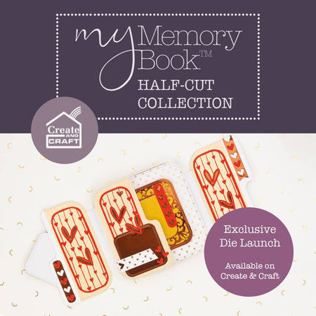 My Memory Book - Half Cut Collection - Launch Details