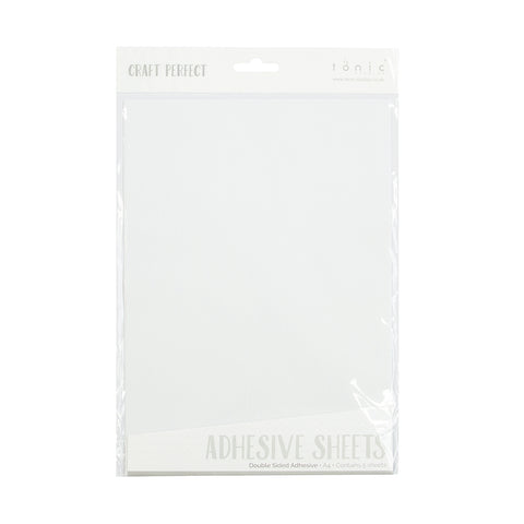 Craft Perfect - Adhesives - Double Sided Adhesive Sheets - A4 (5/PK) - 9760e