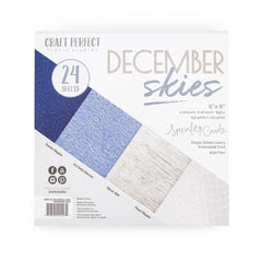 Craft Perfect 6x6 Card Packs Craft Perfect - 6x6 Card Packs - December Skies - 9427e