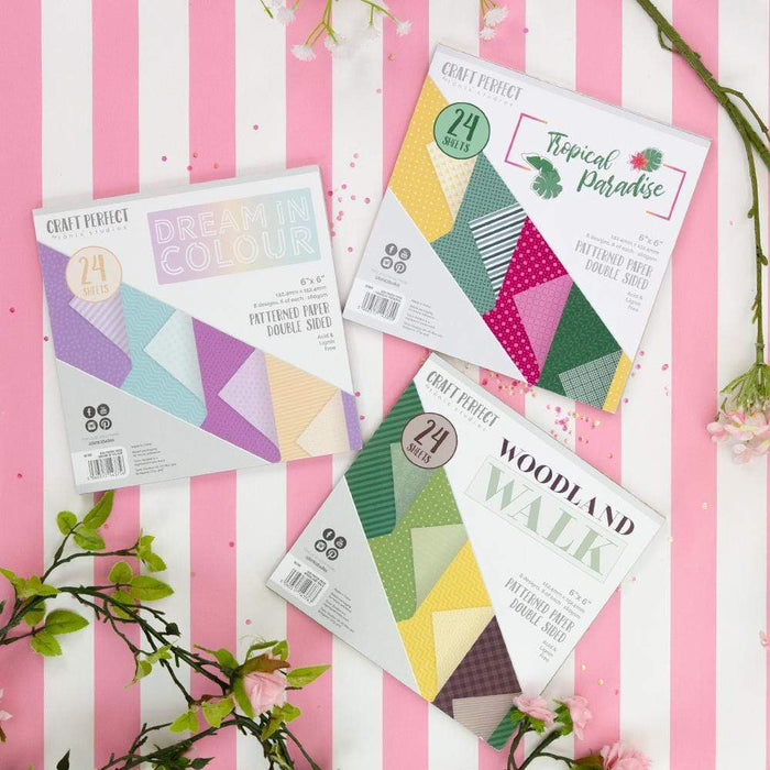 Craft Perfect bundle Craft Perfect - 6x6 Patterned Papers Bundle - UKB475