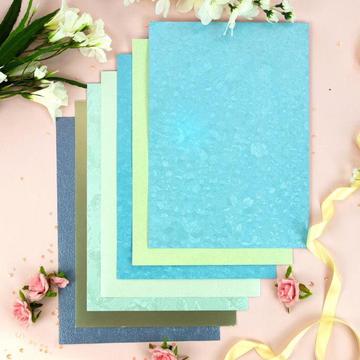 Craft Perfect bundle Craft Perfect - Card Bundle - Azul Pastel - UKB520