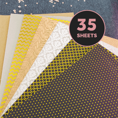 Craft Perfect bundle Craft Perfect - Foiled Kraft Card Bundle - UKBLK31