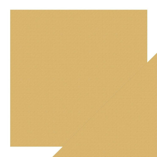 "Craft Perfect Classic Card Craft Perfect - Classic Card - Tan Brown - Weave Textured - 12"" x 12"" (5/Pk) - 9240e"