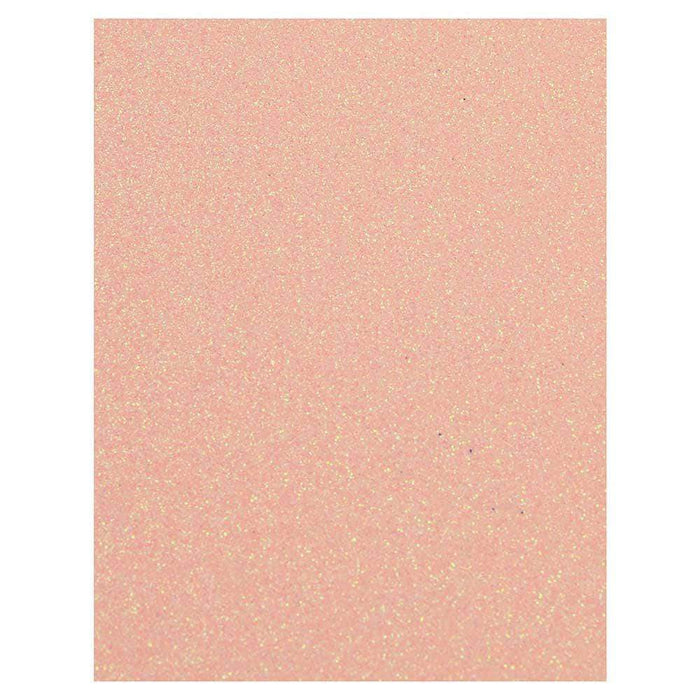 Craft Perfect Glitter Card Craft Perfect - Glitter Card - Pink Frosting - A4 (5/PK) - 9955E