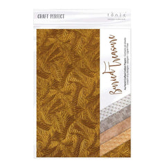 Craft Perfect Hand Crafted Cotton Papers Craft Perfect - Hand Made Cotton Papers - Buried Treasure - 1973E