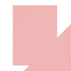 "Craft Perfect Pearlescent Card Craft Perfect - Pearlescent Card - Princess Pink - 8.5""x11"" (5/PK) - 9545e"