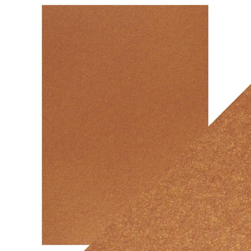 Craft Perfect Pearlescent Card Craft Perfect - Pearlescent Card - Rusted Crimson - A4 (5/PK) - 9509e