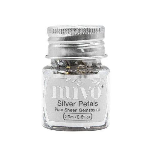 Nuvo Gemstones Nuvo - Pure Sheen Gemstones - Silver Petals - 1403n
