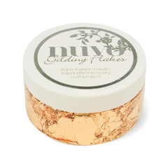 Nuvo Gilding Flakes Nuvo - Gilding Flakes - Sunkissed Copper (200ml) - 852n