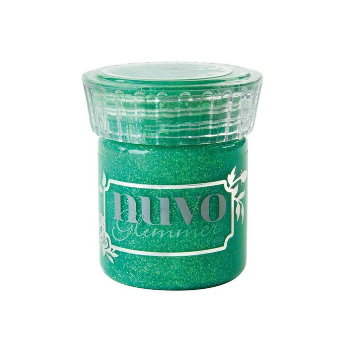 Nuvo Glimmer Paste Nuvo - Glimmer Paste - Peridot Green - 958n
