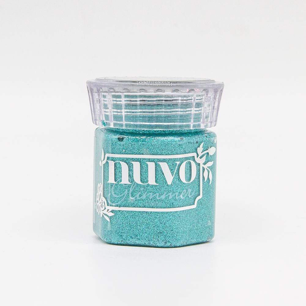 Nuvo Glimmer Paste Nuvo - Glimmer Paste - Turquoise Topaas - 1552N