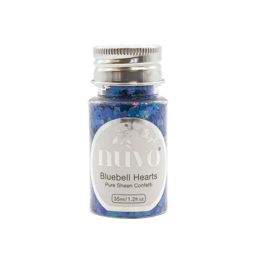 Nuvo Nuvo Confetti Nuvo - Confetti - Bluebell Hearts - 35ml Bottle - 1070n