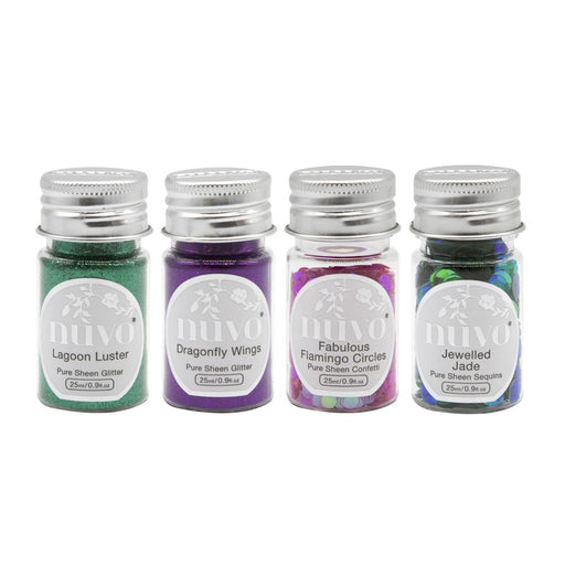 Nuvo Nuvo Glitter Nuvo - Pure Sheen 4 Pack - Tropical Paradise - 307n