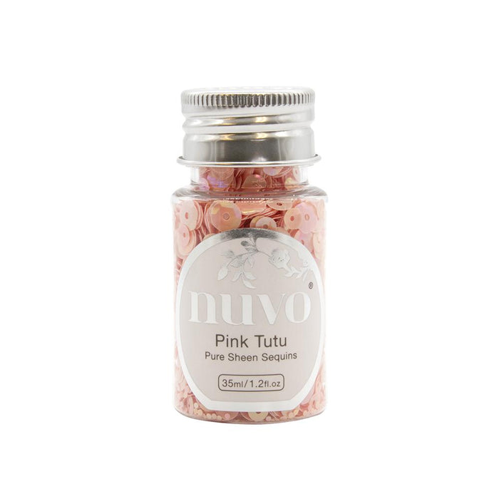 Nuvo Nuvo Sequins Nuvo - Sequins - Pink Tutu - 35ml Bottle - 1146n