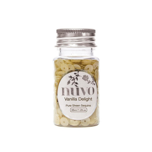 Nuvo Nuvo Sequins Nuvo - Sequins - Vanilla Delight - 35ml Bottle - 1142n
