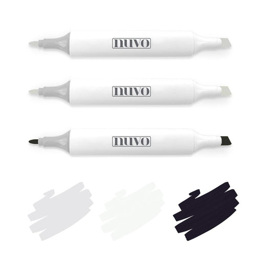 Nuvo Pens and Pencils Nuvo - Marker Pen Collection - Depth & Shadows - 3 Pack - 320N