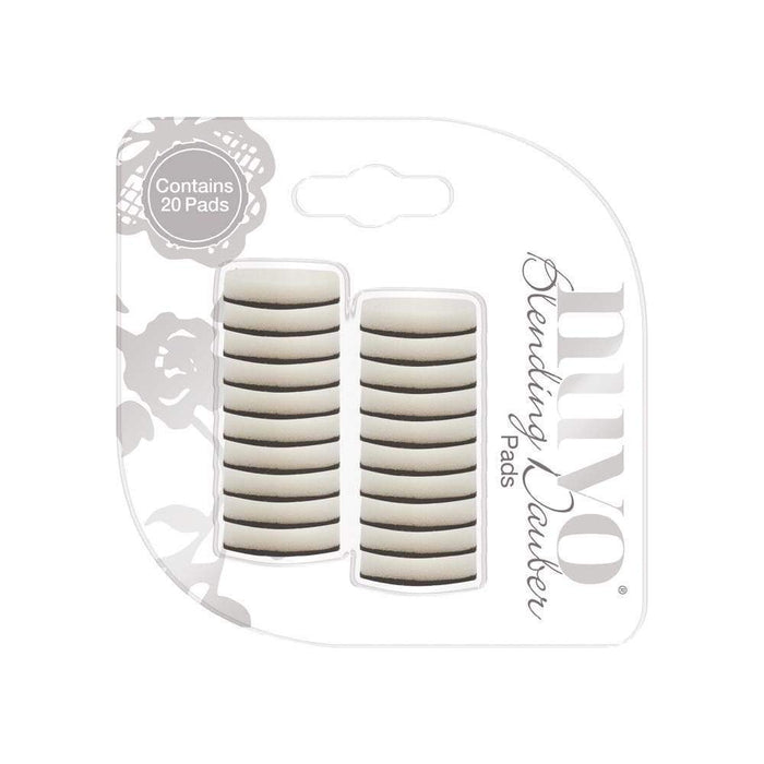 Nuvo Tools Nuvo - Blending Dauber Replacement Pads - 20 Pack - 966n