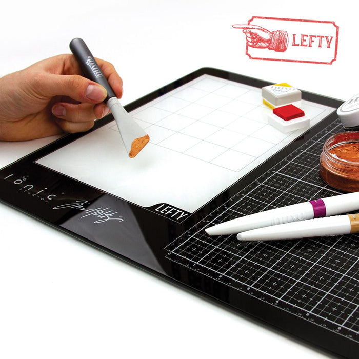 Tim Holtz Tools Tim Holtz - Glass Media Mat Left-Handed - 1913e
