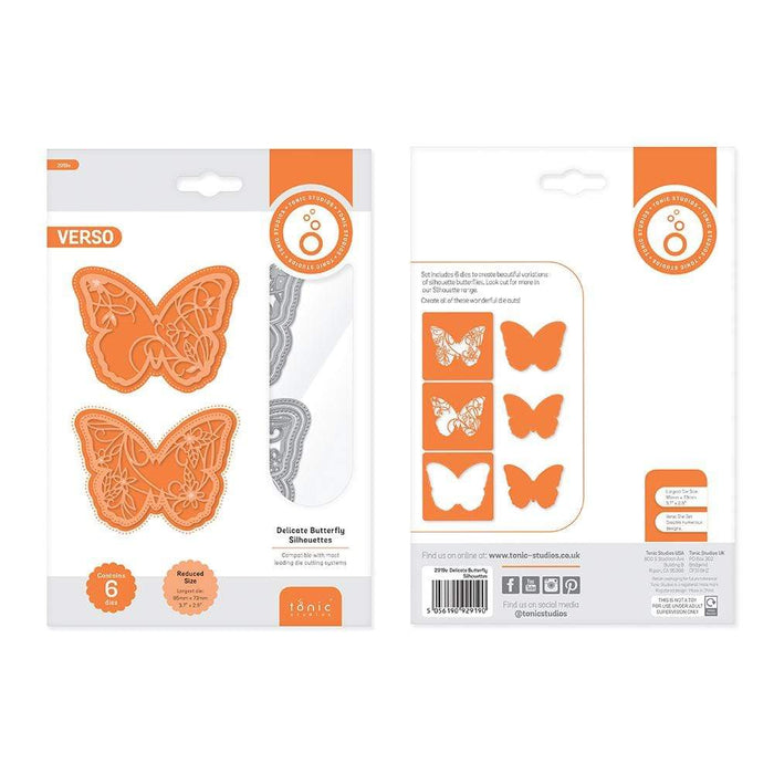 Tonic Studios bundle Tonic Studios - Butterfly & Bloom Silhouette Collection - WED270