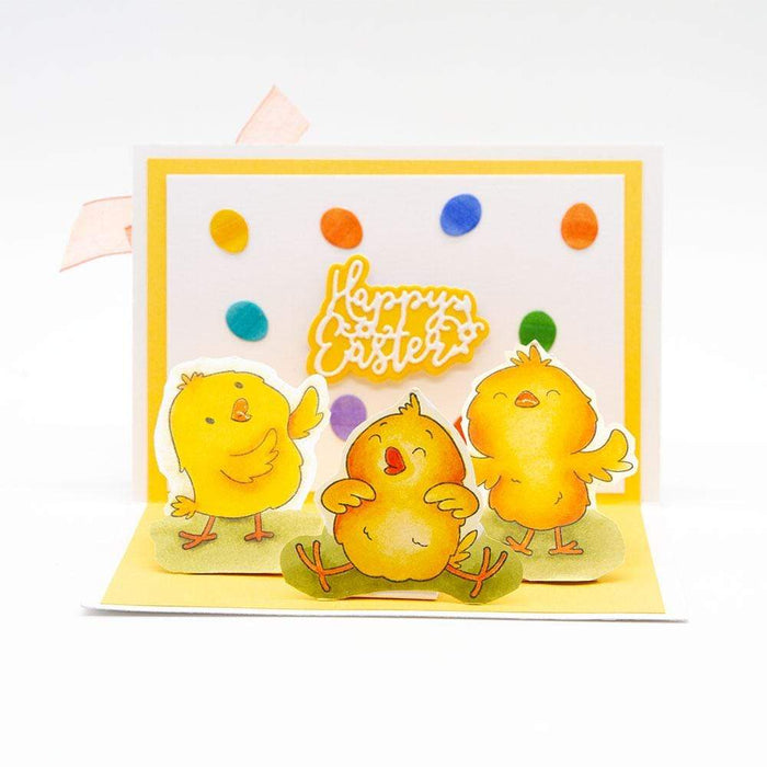 Tonic Studios bundle Tonic Studios - Egg-cellent Easter Die, Stamp & Blister Showcase Set - SHOW4