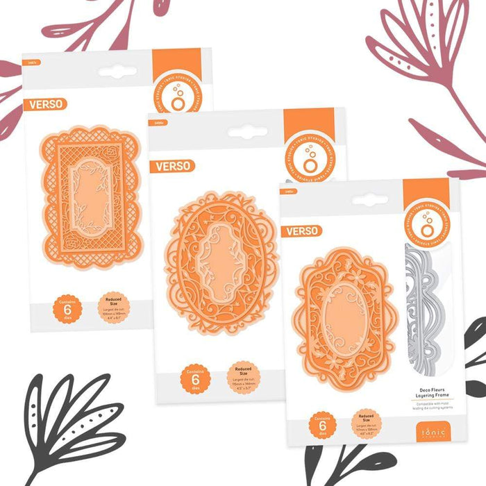 Tonic Studios bundle Tonic Studios - Layering Frame Collection - WED277
