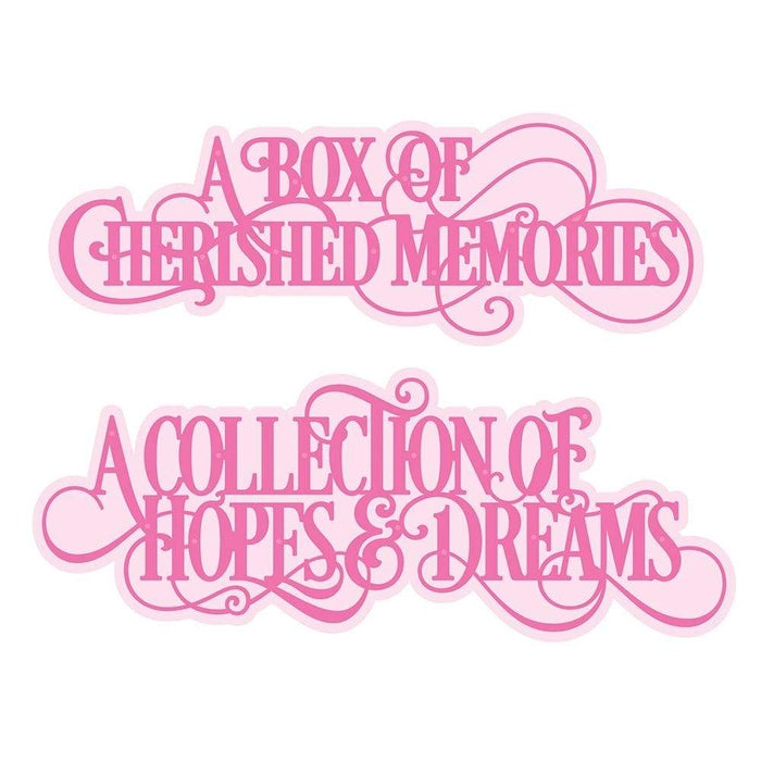 Tonic Studios bundle Tonic Studios - My Memory Book Gift Box Collection - WED275