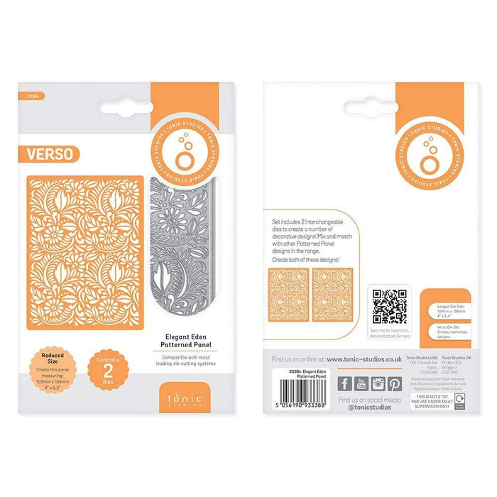 Tonic Studios bundle Tonic Studios - Patterned Panels 2 Collection - WED274