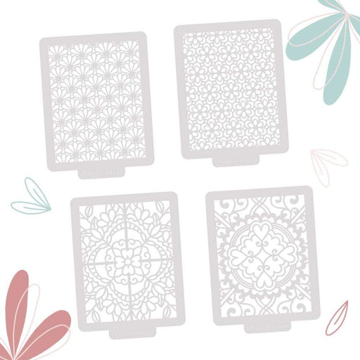 Tonic Studios bundle Tonic Studios - Summer Floral Stencils Bundle - 234B