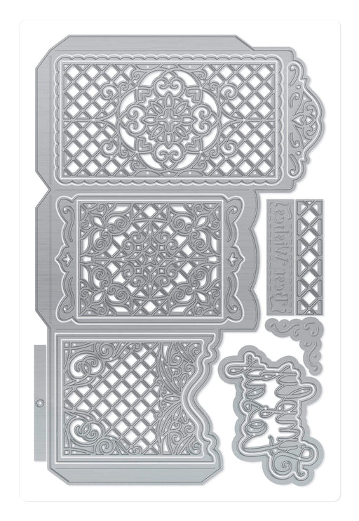 Tonic Studios Designers Choice Designer's Choice 19 - Charming Card Holder Die Set - 3645E
