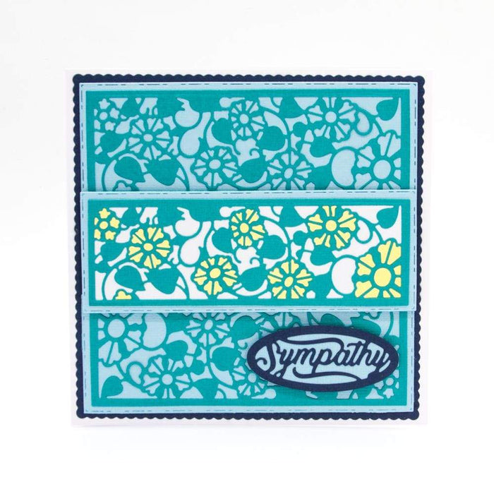 Tonic Studios Die Cutting Tonic Studios - Double Strip Die Set - Rising Blossom - 2791e