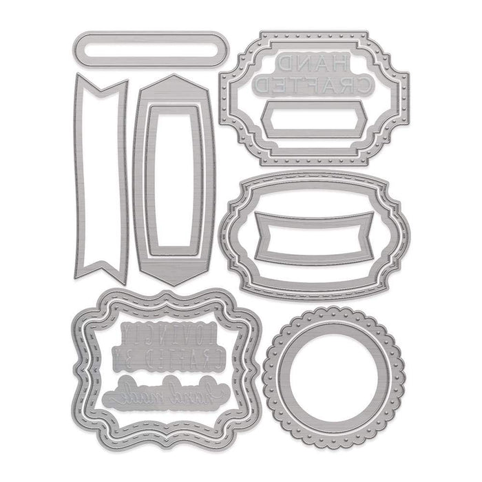 Tonic Studios Die Cutting Tonic Studios - Hand Crafted Badge Die Set - 3563E