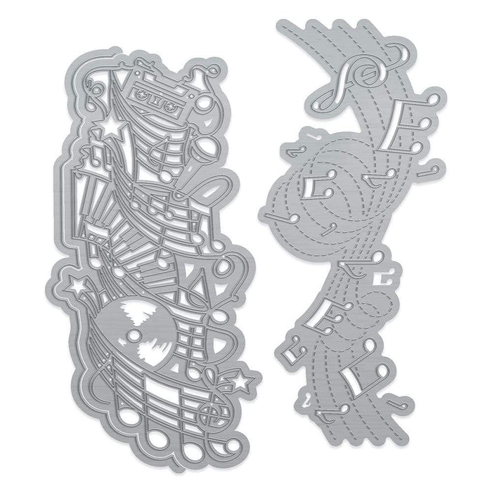 Tonic Studios Die Cutting Tonic Studios - Nothing But Treble Double Strip Die Set - 3683E