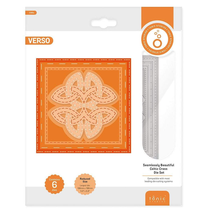 Tonic Studios Die Cutting Tonic Studios - Seamlessly Beautiful - Celtic Cross Die Set - 3390E