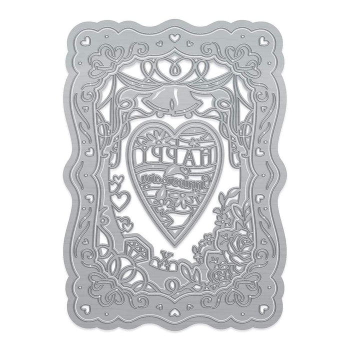 Tonic Studios Die Cutting Tonic Studios - Special Occasion Layer Frame - Anniversary - 3890E