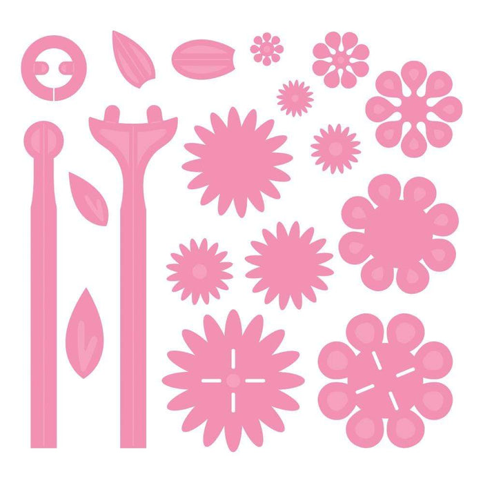 Tonic Studios Die Cutting Tonic Studios - Whimsical Blooms Die Set - 3698E