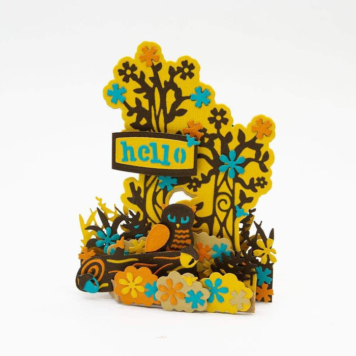Tonic Studios Die Cutting Tonic Studios - Wilderness Adventures Fanciful Forest - 3292E