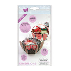 Tonic Studios Dimensions Tonic Studios - Dimensions - Basket Beautiful Medio Die Set - 2711E