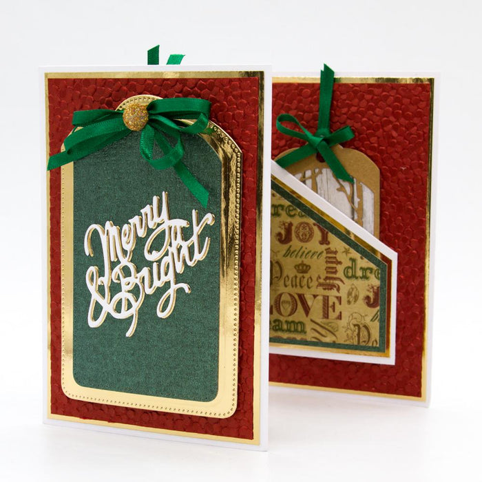 Tonic Studios Dimensions Tonic Studios - Dimensions - Enchanted Forest Silhouette Tag & Wallet Die Set - 2758E