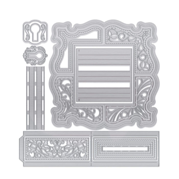 Tonic Studios Dimensions Tonic Studios - Dimensions - Enchanted Shadow Frame Die Set - 2654E
