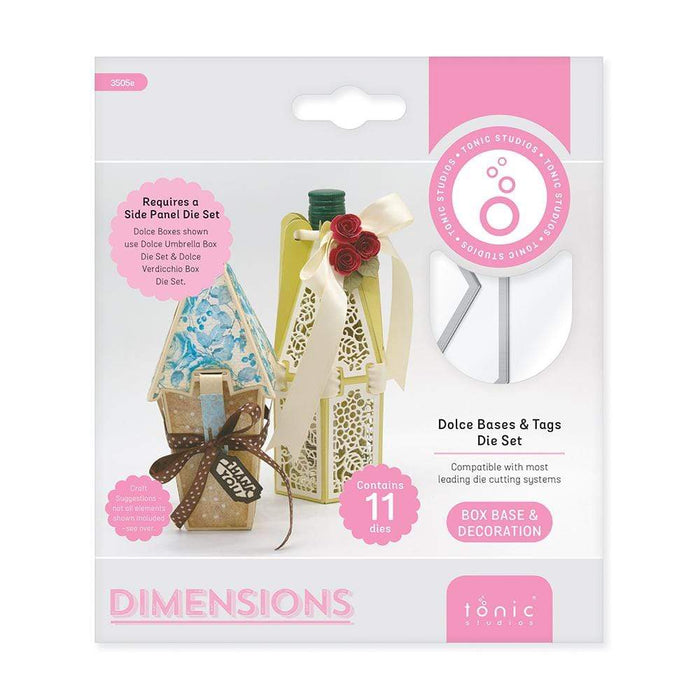 Tonic Studios Dimensions Tonic Studios - Dolce Bases & Tag Die Set - 3505E