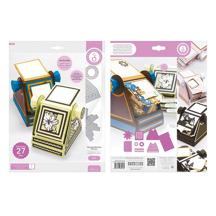 Tonic Studios Dimensions Tonic Studios - Keepsake Rotating Memoirs - Base Creator Die Set - 3013E